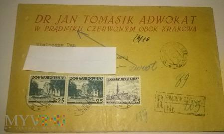 Duże zdjęcie koperty Tomasik adwokat