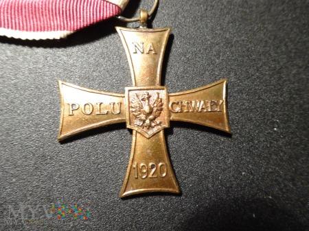 Duże zdjęcie Krzyż Walecznych - z lat 1944 - 1945 : 24b.