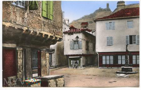 Saint-Cere - stary dom - lata 50-te