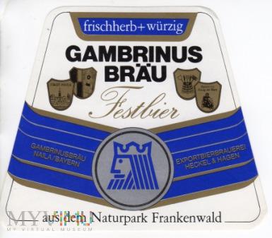 GAMBRINUS BRÄU