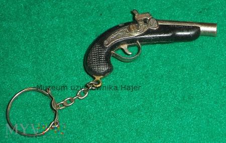 Pistolet skałkowy - brelok