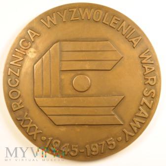 1975 - 56/75 - XXX rocznica wyzwolenia Warszawy