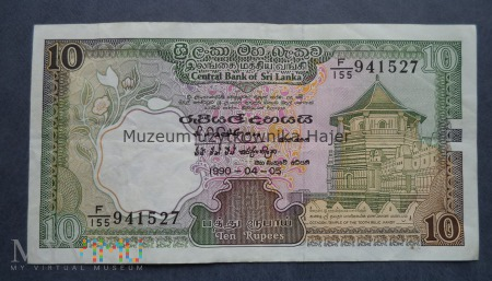 Sri Lanka - 10 rupii - 1990 rok