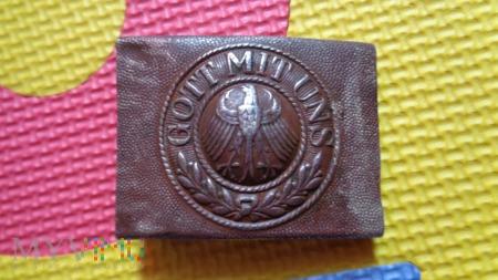 Duże zdjęcie klamra Reichswehry stalowa