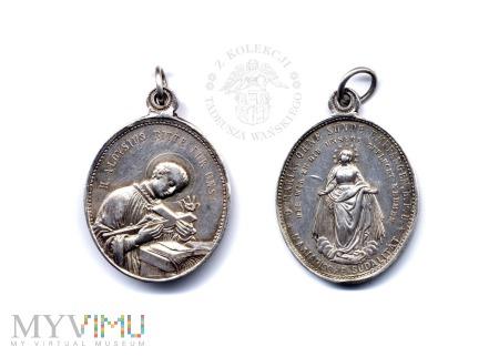 Medalik Sodalicji ze św. Alojzym