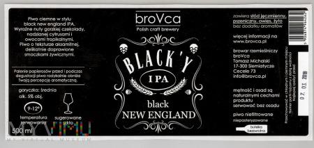 Brovca, Black'y IPA