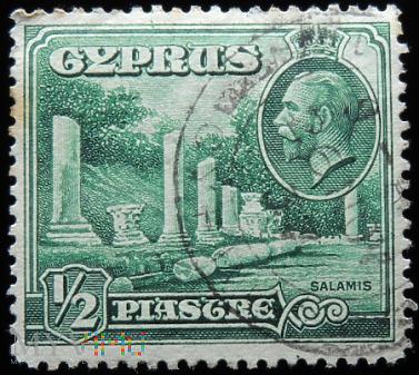Cypr 1/2 Piastra Jerzy V