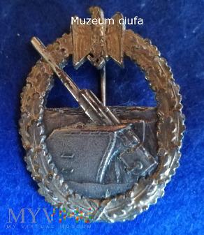 Odznaka Artylerii Nadbrzeznej-Wehrmacht