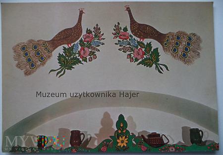 Zalipiańskie malowanki Maltury na ścianach krakow