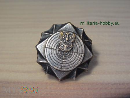 Odznaka strzelecka srebrna miniaturka