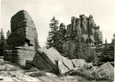 Karkonosze - grupa skalna
