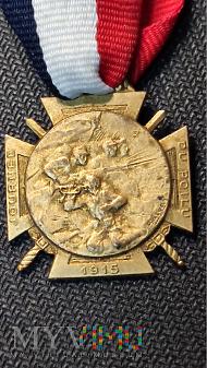 Medal Journee Du Poilu 1915 Croix - Francja