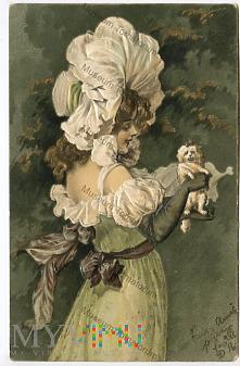 dama z pieskiem - 1905