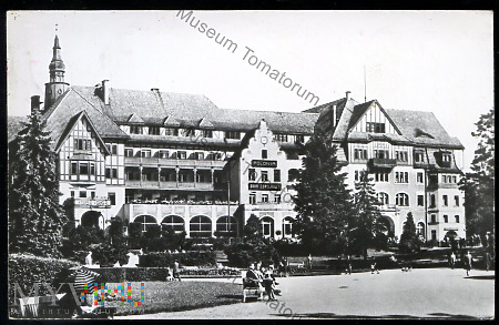 Kudowa Zdrój - Bad Kudowa Sanatorium Polonia -1967