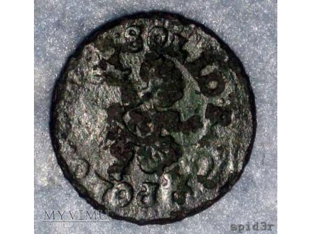 szeląg koronny 1664 14
