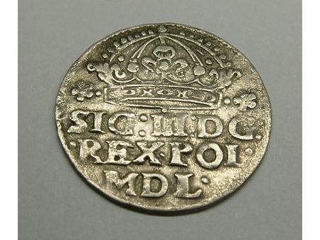 Grosz mennica Kraków- 1614 r- ładny