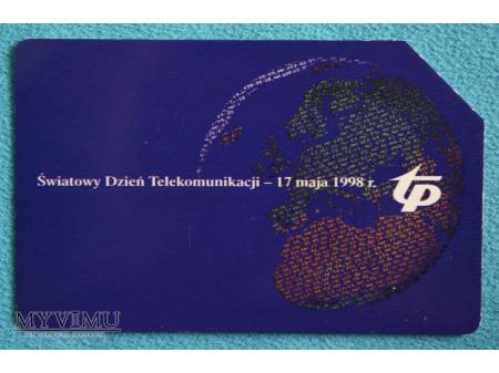 Światowy Dzień Telekomunikacji 1998
