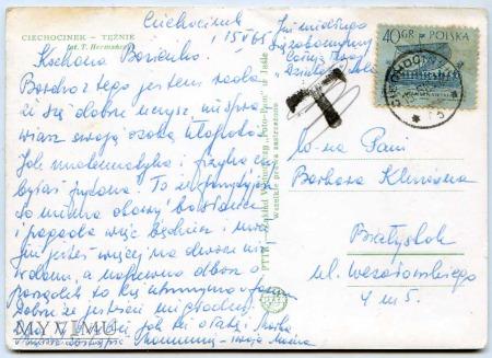 Ciechocinek - 1965 - Tężnia