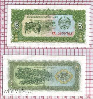 5 kip- Laos