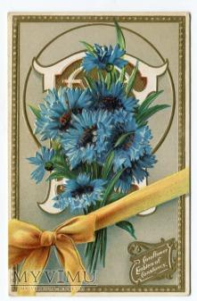 Język Kwiatów Bławatek Language of Flowers