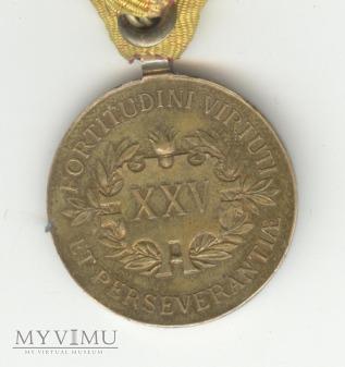 Medal Zasługi za 25 lat służby w Straży Pożarnej..