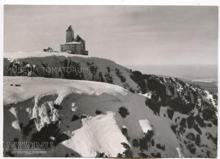 Karkonosze Śnieżne Kotły Schneegrubenbaude 1962