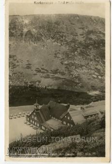 Duże zdjęcie Karkonosze Samotnia Teichbaude 1930