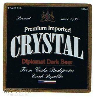 premium imported crystal diplomat dark lager