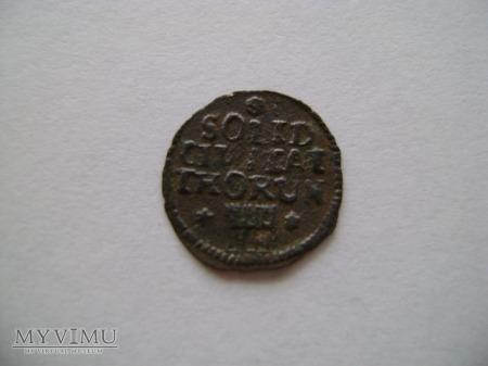 szeląg toruński S.A.P. 1763