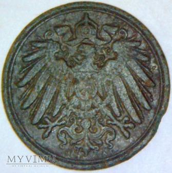 Wilhelm II Hohenzollern 1888-1918-1 PFENNIG 1894 A