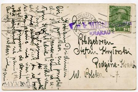 Dachshund - Jamnik uczłowieczony 1915