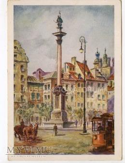 W-wa - Kolumna Zygmunta - 1932 ok.