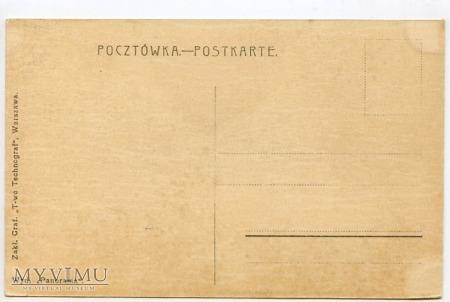W-wa - Zamek - od południa - 1915-1918