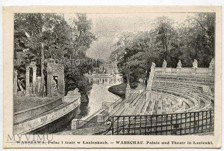 Warszawa - Łazienki - Amfiteatr - 1915