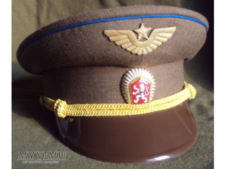 Czapka oficera lotnictwa ČSLA