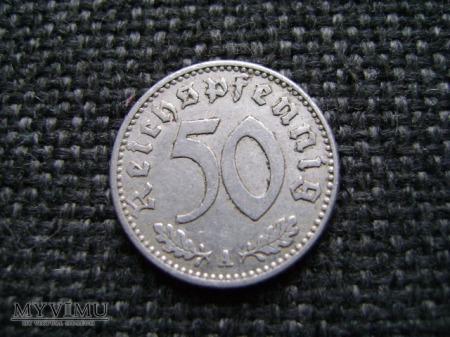 50 reichspfennig 1943 A