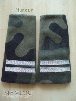 Pochewki z oznakami stopnia - kapral BOR