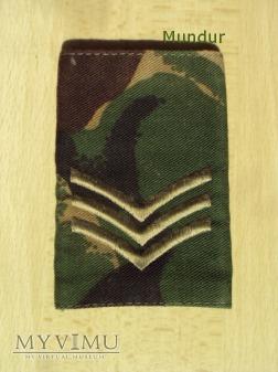 Wieka Brytania-oznaka stopnia: sierżant