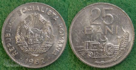 Rumunia, 25 Bani 1982