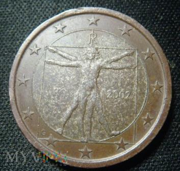 Włochy 1 EURO 2002 R