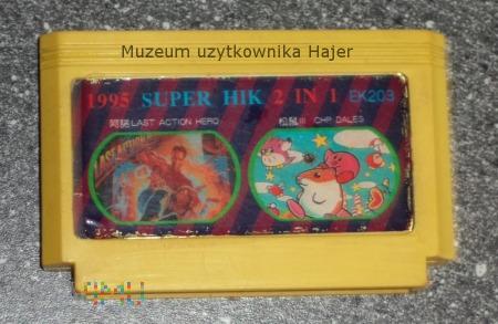 2 IN 1 SUPER HIK 1995 Kartridż Gra do Pegasus