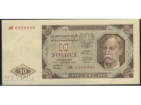 10 zł 1948 r.