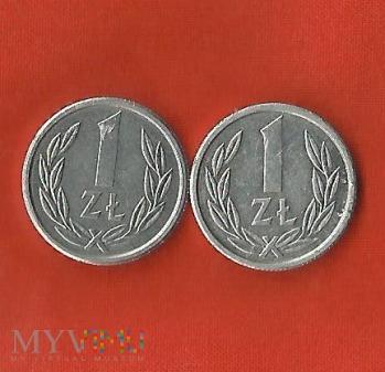 Polska 1 złoty, 1989 / 1990