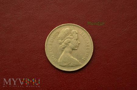Moneta brytyjska: 10 new pence 1969