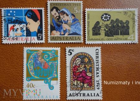 znaczki Australii lata 60 te