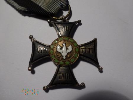 Virtuti Militari - II RP/brak kulki/ ale przetrwał