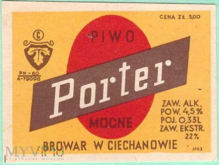 Ciechanów, porter