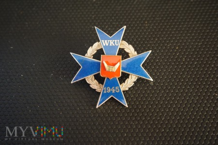 Odznaka WKU - Nowy Tomyśl ; Nr:050