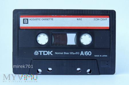 TDK A/60 kaseta magnetofonowa