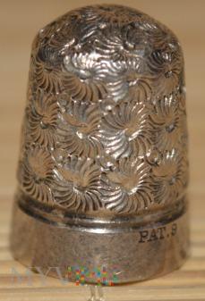 naparstek srebrny